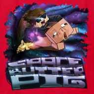 Design ~ Kid's T Shirt: SPACE BUTTER PIG!