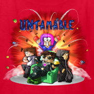 Design ~ Kid's T Shirt: UNTAMABLE!