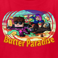 Design ~ Kid's T Shirt: BUTTER PARADISE!