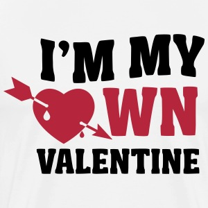 I'm my own valentin T-Shirts - Men's Premium T-Shirt