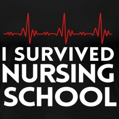 I survived nursing school Women's T-Shirts