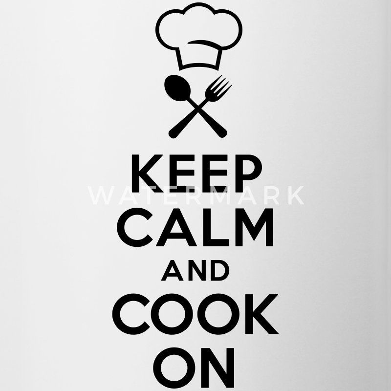 Keep calm and cook on Accessories - Contrast Coffee Mug