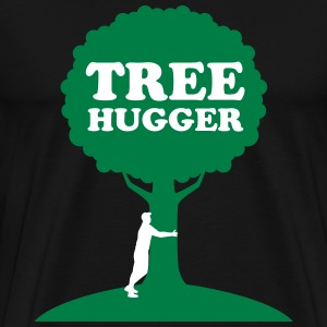 Tree Hugger T-Shirts - Men's Premium T-Shirt