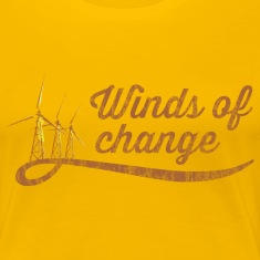 Winds of change women's t-shirt
