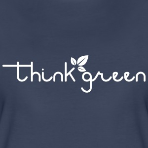 Think Green Women's T-Shirt - Women's Premium T-Shirt