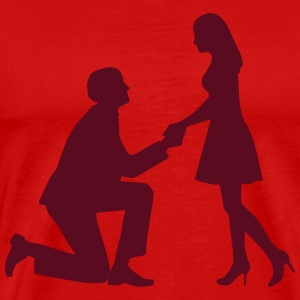 Wedding proposal T-Shirts - Men's Premium T-Shirt