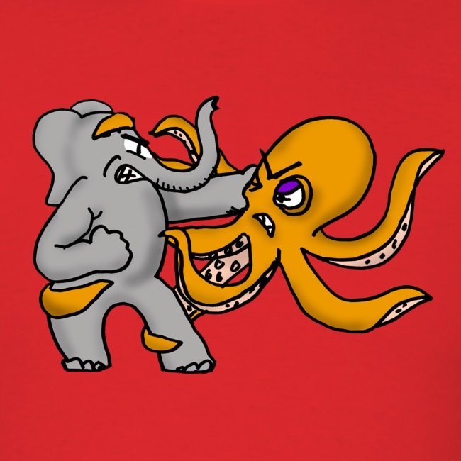 Elephant vs. Octopus Shirt