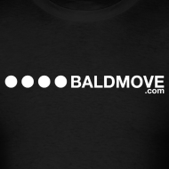 Design ~ Bald Move - White Logo