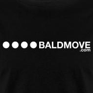 Design ~ Bald Move - White Logo