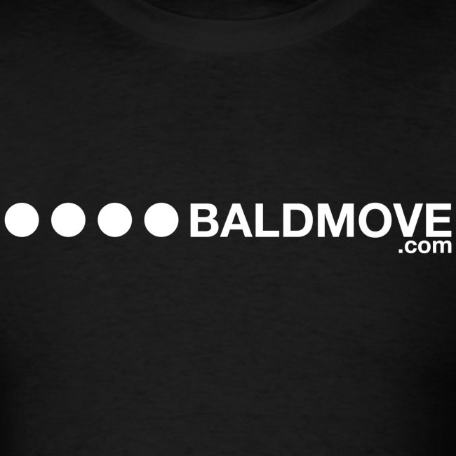Bald Move - White Logo