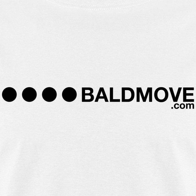 Bald Move - Black Logo