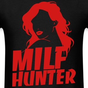 MilfHunter - Red Print - Men's T-Shirt