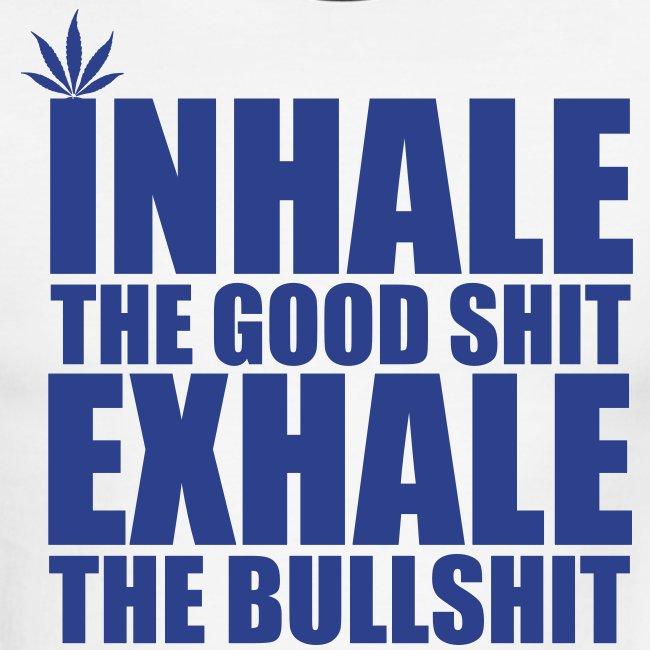 inhale/exhale tee