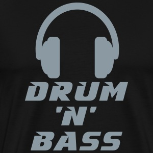 Drum 'n' Bass Music T-Shirts - Men's Premium T-Shirt