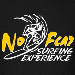 surfing_experience_no_fear_yellow T-Shirts - Men's T-Shirt