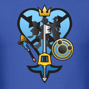 (Kingdom Hearts) All for One and One for All T-Shirts - Men's T-Shirt