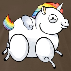 Derpy Unicorn T-Shirts - Men's Premium T-Shirt