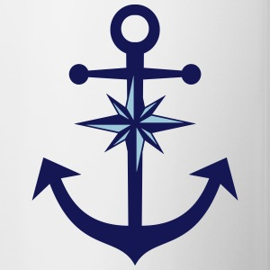 Anchor Compass Accessories - Contrast Coffee Mug