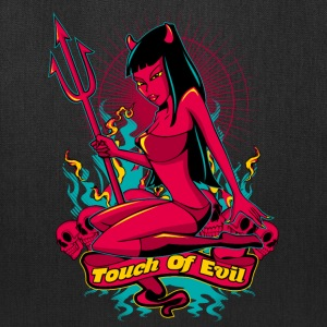 Devil Pin-Up Girl - Touch of evil Bags & backpacks - Tote Bag