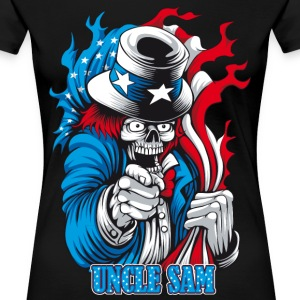 Uncle Dead wants You Women's T-Shirts - Women's Premium T-Shirt