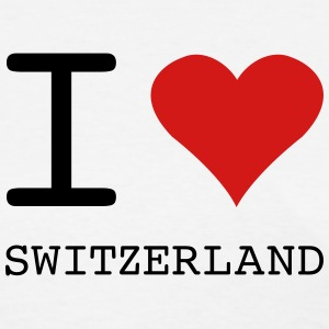 I LOVE SWITZERLAND - Women's T-Shirt