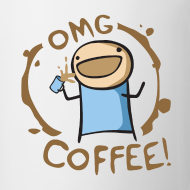 Design ~ OMG COFFEE! Mug
