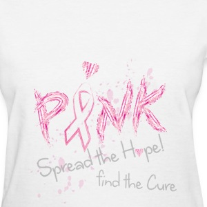 Pink Spread the Hope Women's T-Shirts - Women's T-Shirt