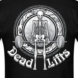 Dead Lifts Standard Tee BACK - Men's T-Shirt