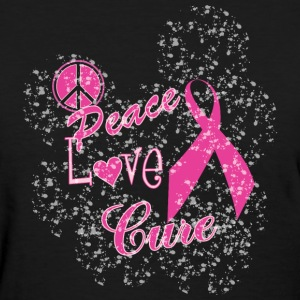 Peace Love Cure - Women's T-Shirt