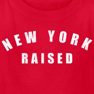 New York Raised Kids' Shirts - Kids' T-Shirt