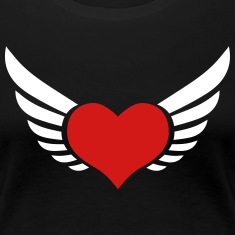 Lucky Love heart flies fly flying wings Lovers Val