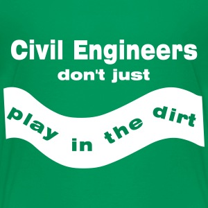 Civil Engineers Play Kids' Shirts - Kids' Premium T-Shirt