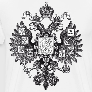 Gerb Rossii Old Coat of Arms of Russia Eagle Shirt - Men's Premium T-Shirt