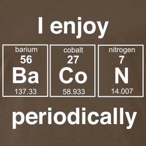 Enjoy Bacon Periodically T-Shirts - Men's Premium T-Shirt