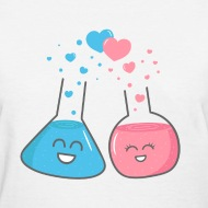 we ve got chemistry  cute flasks in love t shirt spreadshirt Health Science Clip Art Science Fair Clip Art