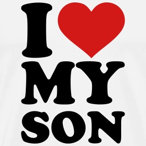 I love my son T-Shirts - Men's Premium T-Shirt
