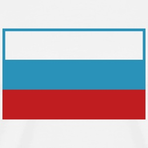 Я люблю Россию I love Russia Flag Tee - Men's Premium T-Shirt