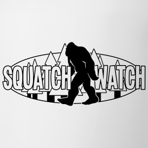 Squatch Watch Logo BW MP Bottles & Mugs - Coffee/Tea Mug