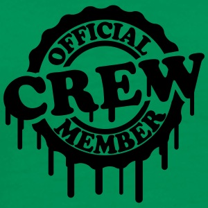 Cool Official Crew Member Stamp Design T-Shirts - Men's Premium T-Shirt