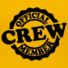 Cool Official Crew Member Stamp Women's T-Shirts