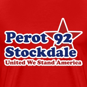 Retro Perot Political - Men's Premium T-Shirt