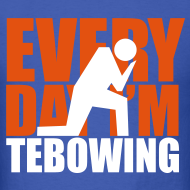 Design ~ Every Day I'm Tebowing