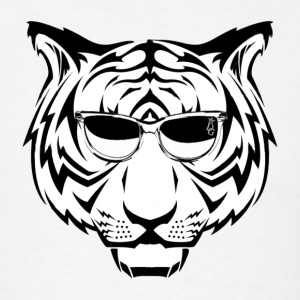 DG Sunglasses Tiger - Men's T-Shirt
