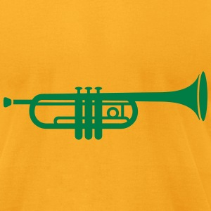 A trumpet  T-Shirts - Men's T-Shirt by American Apparel