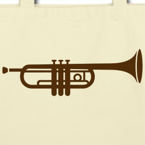 A trumpet  Bags & backpacks - Eco-Friendly Cotton Tote