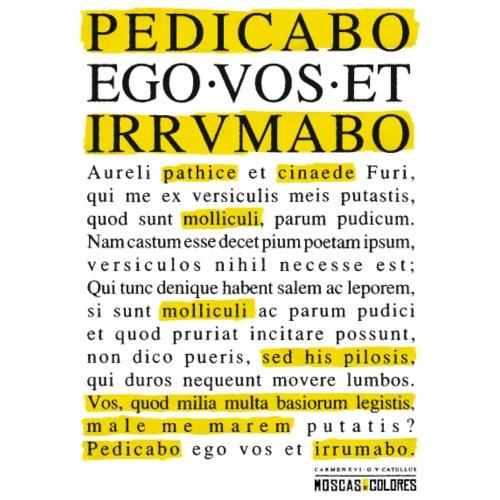 Pedicabo ego vos et irrumabo.
