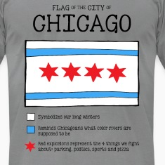 Chicago Flag Really