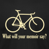 What will your memoir say? - Men's Fine Jersey T-Shirt