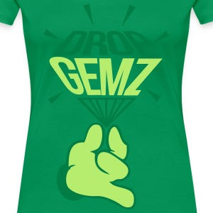 Drop Gemz Diamond - Women's Premium T-Shirt