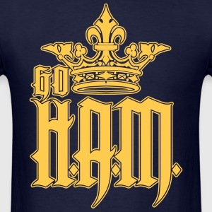 Go HAM or Go H.A.M. T-Shirts - Men's T-Shirt